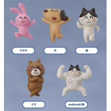 irasutoya Party Mascot Keychains