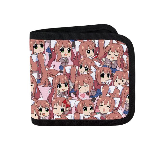 Just ALL Monika Canvas Wallet