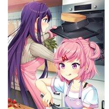 Picnic Series - Natsuki & Yuri Poster