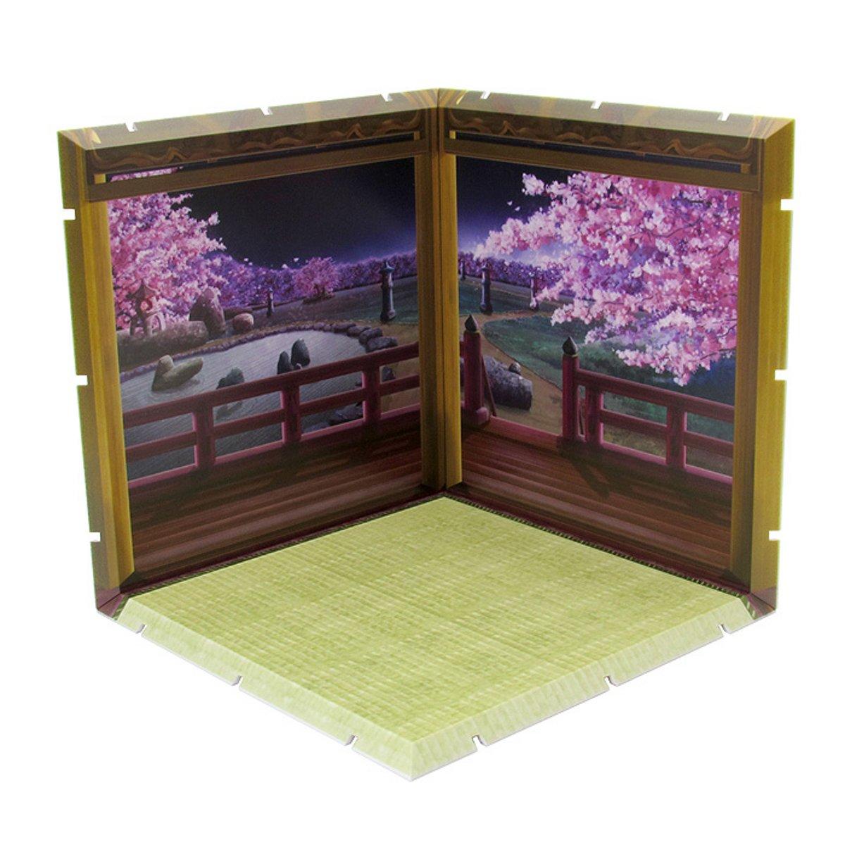 Dioramansion 150: Neighborhood (Night) / Office (Night) / Cherry Blossoms at Night