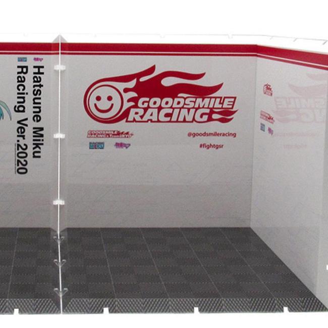 Dioramansion 150: Racing Miku Pit 2020 Optional Panel (Pit A)