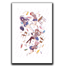 Falling Classroom Art Print