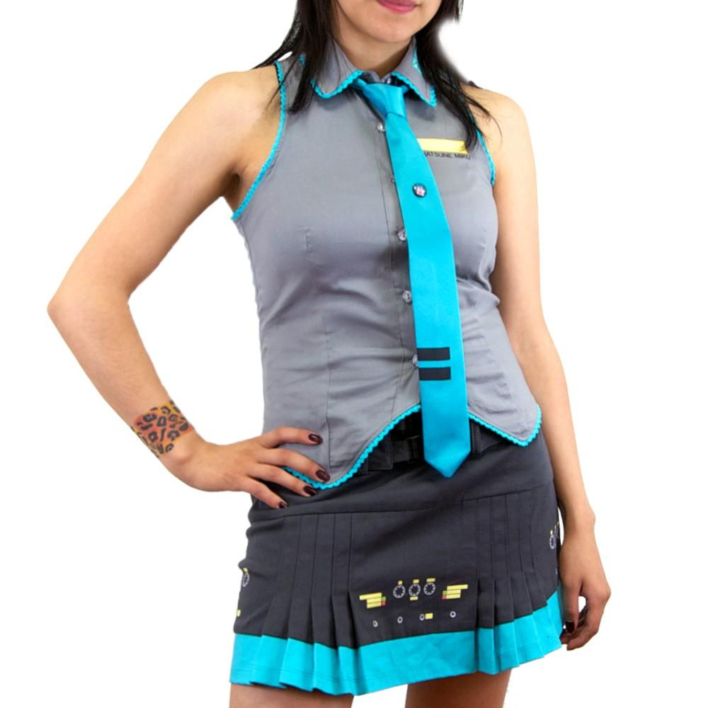 Hatsune Miku Cyber Pleats Skirt