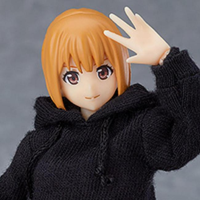 figma Female Body (Emily) with Hoodie Outfit