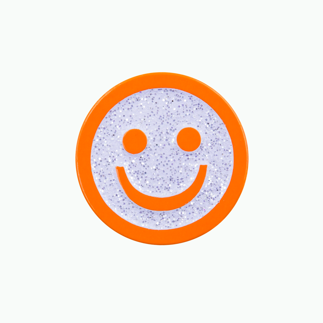 Good Smile Face Pin