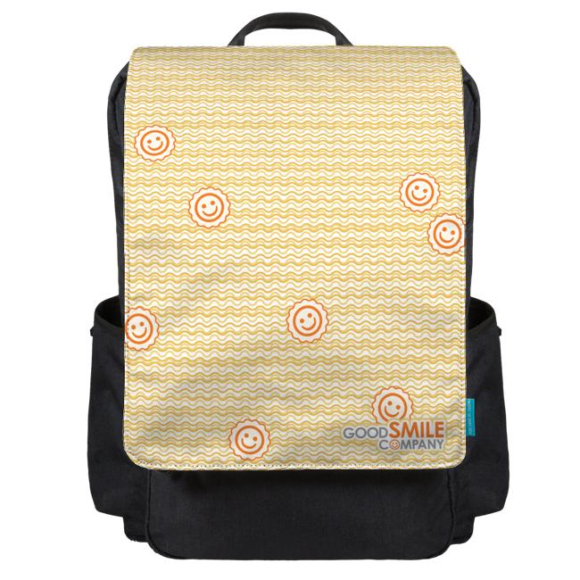 Ramen Noodles Backpack Flap