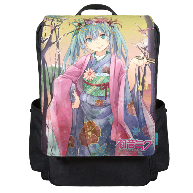 Spring Blooming Backpack Flap
