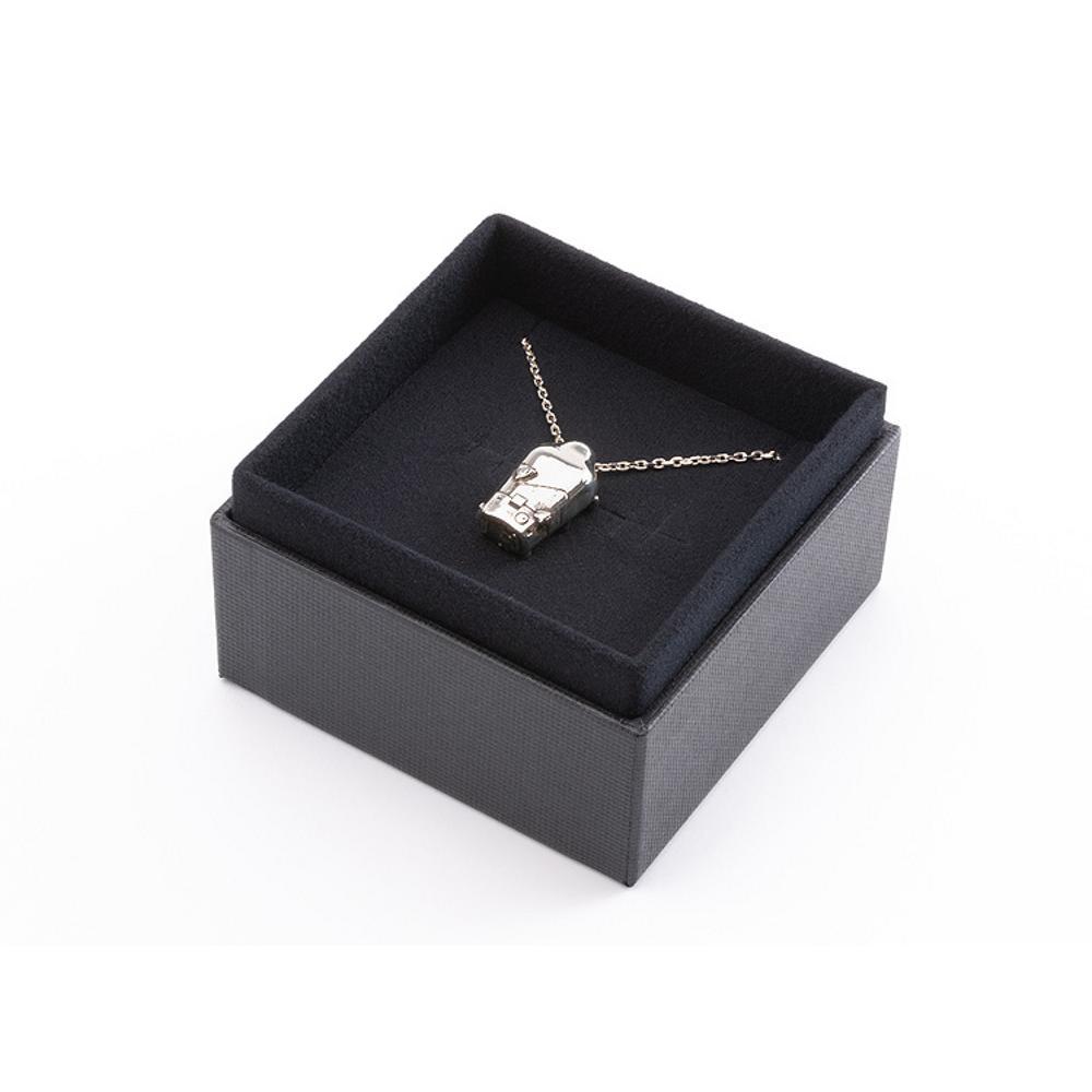 BB Pod Silver Necklace