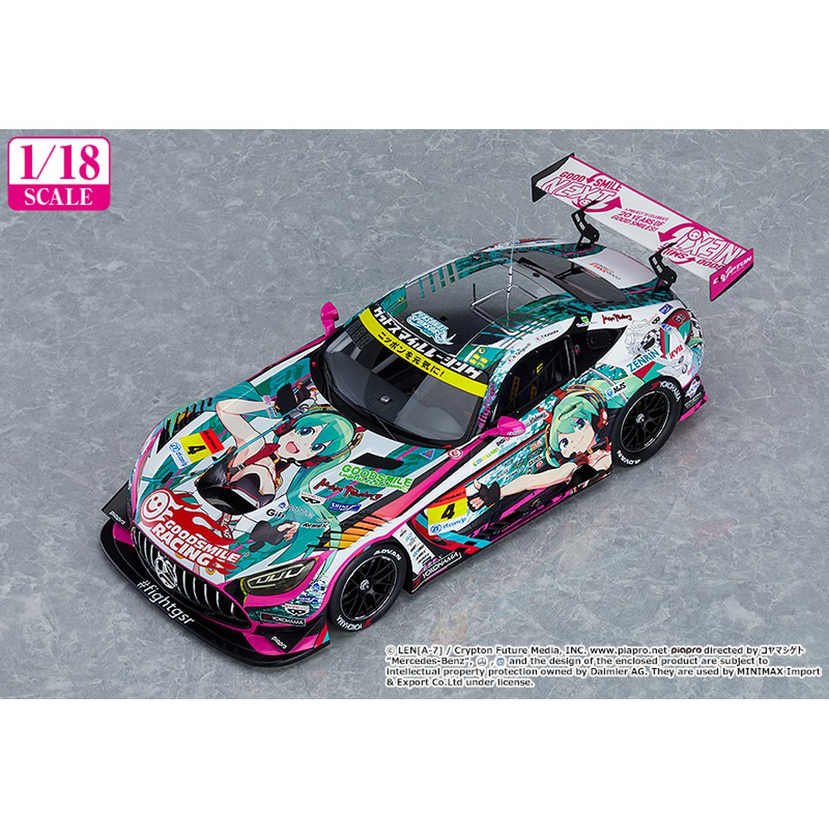 1/18th Scale Good Smile Hatsune Miku AMG 2020 SUPER GT Okayama Test Ver. - GSC Online Exclusive Edition