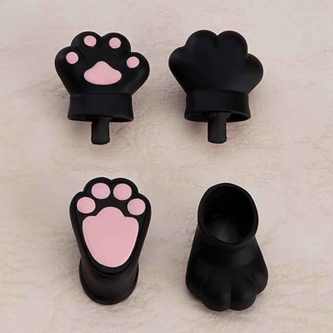 Nendoroid Doll: Animal Hand Parts Set (Black)