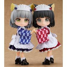Nendoroid Doll: Outfit Set (Japanese-Style Maid - Blue)