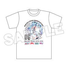 Hatsune Miku GT Project 100th Race Commemorative Art Project Art Omnibus Circuit T-Shirt