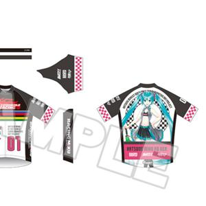 Hatsune Miku GT Project 100th Race Commemorative Art Project Art Omnibus Cycling Jersey