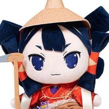 Sakuna: Of Rice and Ruin Plushies (Princess Sakuna/Tama/Dog)