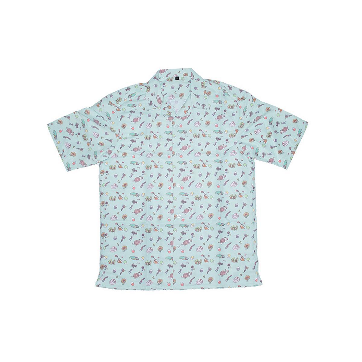 WONDER EGG PRIORITY Open Collar Shirt