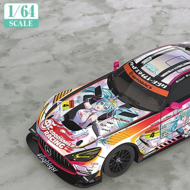 1/64 Scale Good Smile Hatsune Miku AMG 2021 SUPER GT Ver.