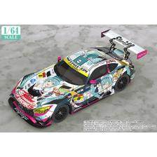 1/64 Scale Good Smile Hatsune Miku AMG 2018 SUPER GT Ver.