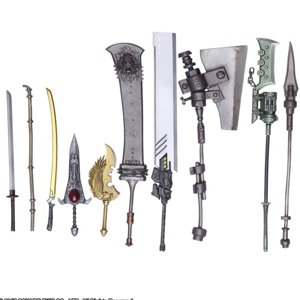 NieR: Automata™ BRING ARTS Trading Weapon Collection