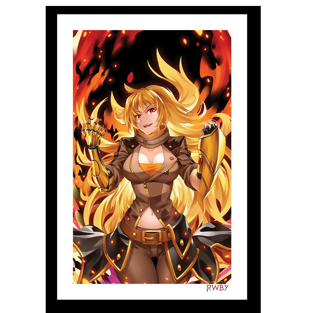 Burning Yang Art Print