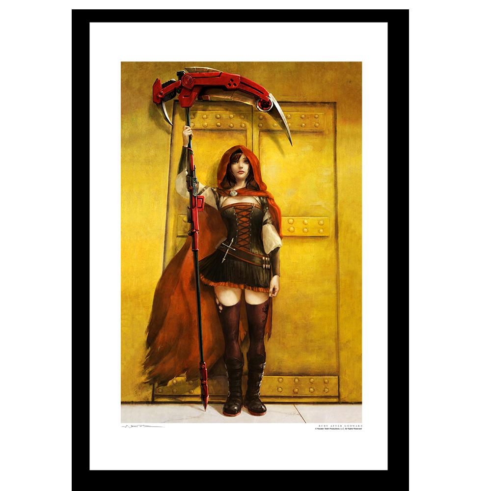 Ruby After William Godward Art Print