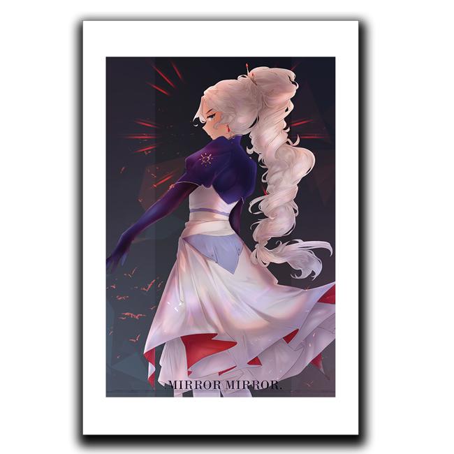 Weiss Mirror Mirror Art Print
