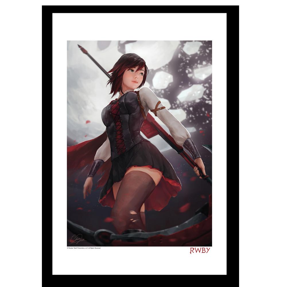 Huntress Ruby Rose Art Print
