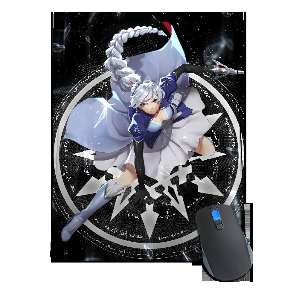 Weiss Schnee Mousepad