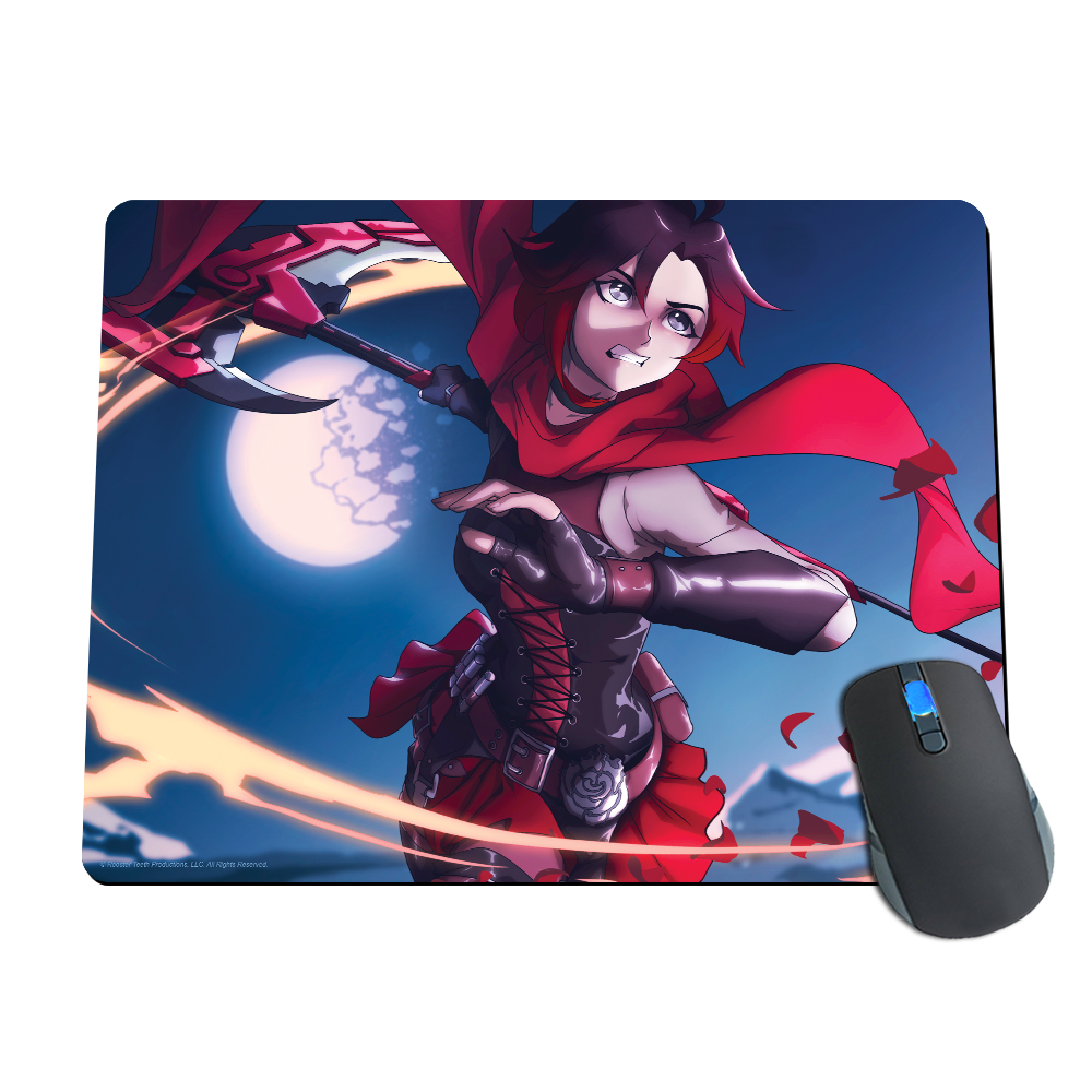 Ruby Scythe Attack Mousepad