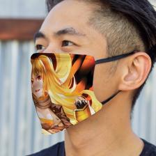 Burning Yang Mask