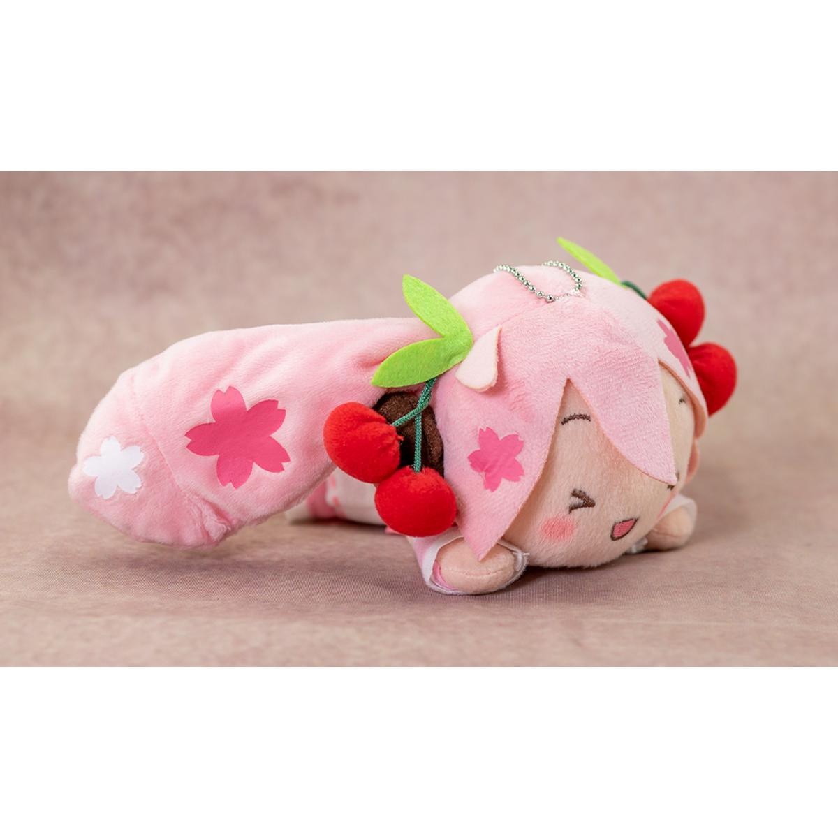 Sega Hatsune Miku Sakura Nesoberi Plush